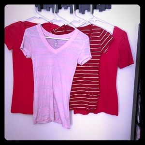 Lot of 4 NEW Wet Seal tees